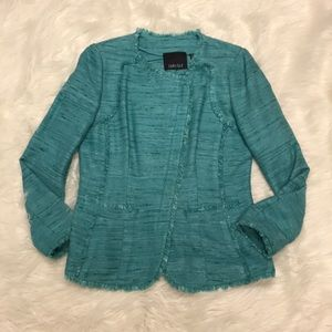 Carlisle Turquoise tweed blazer